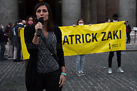 Tina Marinari (Campaign Coordinator for Amnesty International Italia).<br />
