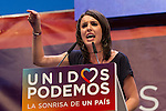 Spanish politician Irene Montera during the closing of the electoral campaign of Unidos Podemos. 24,06,2016. (ALTERPHOTOS/Rodrigo Jimenez)