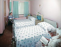 Providence Rest Nursing Home, NYC, New York,  Resident room