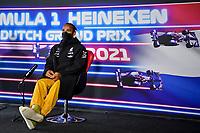 3rd September 2021: Circuit Zandvoort, Zandvoort, Netherlands;   F1 Grand Prix of the Netherlands 44 Lewis Hamilton GBR, Mercedes-AMG Petronas F1 Team, F1 Grand Prix of the Netherlands at Circuit Zandvoort