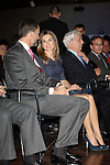 Prince Felipe of Spain and Princess Letizia of Spain and the writer Mario Vargas Llosa attend the 'El Canon del Boom' literary congress at the Casa de America on November 5, 2012 in Madrid, Spain. .(ALTERPHOTOS/Harry S. Stamper)