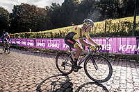 Lionel Taminaux (BEL/Bingoal - Wallonie-Bruxelles) up the Kemmelberg<br /> <br /> 82nd Gent-Wevelgem in Flanders Fields 2020 (1.UWT)<br /> 1 day race from Ieper to Wevelgem (232km)<br /> <br /> ©kramon