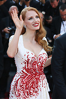 JESSICA CHASTAIN - RED CARPET OF THE CLOSING CEREMONY AT THE 70TH FESTIVAL OF CANNES 2017