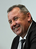 12th September 2021; Cbus Super Stadium, Robina, Queensland, Australia; Rugby International series, New Zealand versus Argentina:  Ian Foster in post match presser