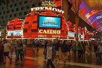 Las Vegas, Nevada.  Fremont Street.  Fremont Casino Marquee.