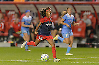 Chicago, IL - Saturday Sept. 24, 2016: Crystal Dunn during a regular season National Women's Soccer League (NWSL) match between the Chicago Red Stars and the Washington Spirit at Toyota Park.