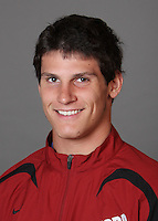 STANFORD, CA - SEPTEMBER 29:  Aaron Konigsberg of the Stanford Cardinal during track and field picture day on September 29, 2009 in Stanford, California.