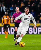 Sheffield United's midfielder John Fleck (4) during the Sky Bet Championship match between Hull City and Sheff United at the KC Stadium, Kingston upon Hull, England on 23 February 2018. Photo by Stephen Buckley / PRiME Media Images.