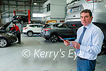 Padraig McCarthy in the service area of Randles Nissan Tralee