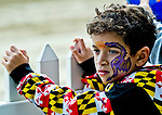 LAUREL, MARYLAND - OCTOBER 22: A young fan watches as horse come onto the track on Maryland Million Day at Laurel Park on October 22, 2016 in Laurel, Maryland. (Photo by Scott Serio/Eclipse Sportswire/Getty Images)