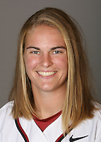 STANFORD, CA - NOVEMBER 3:  Shannon Koplitz of the Stanford Cardinal softball team poses for a headshot on November 3, 2008 in Stanford, California.