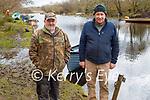 Enjoying a stroll at Ross Castle in Killarney on Sunday, l to r: Pat Mulcahy and Thomas Wharton.