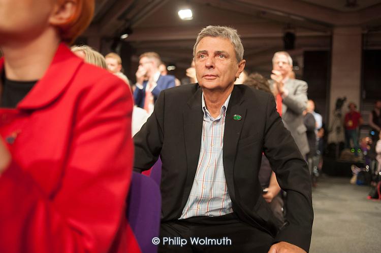 Dave Prentis, Unison general Secretary.  Jeremy Corbyn wins Labour Party leadership election Westminster London