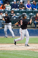 June 8, 2008: Fresno Grizzlies' Ivan Ochoa at-bat during a Pacific Coast League game against the Tacoma Rainiers at Cheney Stadium in Tacoma, Washington.
