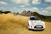 Barrable Robert and Loudon Stuart, Ford Fiesta S2000 during WRC Vodafone Rally de Portugal 2013, in Algarve, Portugal on April 12, 2013 (Photo Credits: Paulo Oliveira/DPI/NortePhoto)