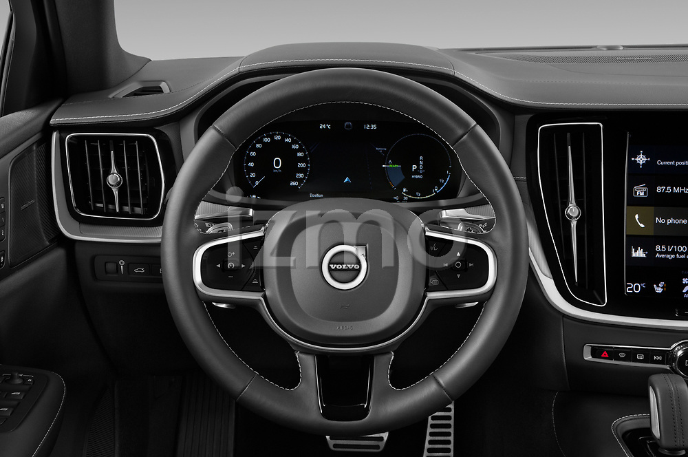Car pictures of steering wheel view of a 2021 Volvo S60-Recharge Polestar 4 Door Sedan Steering Wheel