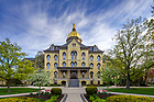 May 8, 2020; Main Building (Photo by Matt Cashore/University of Notre Dame)