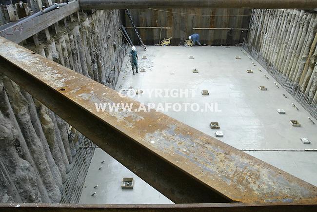Arnhem, 231002<br />Werkzaamheen bij watermuseum.<br />Tekst volgt via APA redactie<br />Foto: Sjef Prins - APA Foto