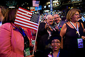 Denver, Colorado<br /> August 25, 2008<br /> <br /> The opening day of the Democratic National Convention in the Pepsi Center. Illinois delegates party it up.