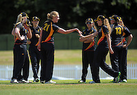 160129 Women's T20 Cricket - Central Hinds v Wellington Blaze