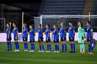 Italy team line up during the Women s EURO 2022 qualifying football match between Italy and Denmark at stadio Carlo Castellani in Empoli (Italy), October, 27th, 2020. Photo Andrea Staccioli / Insidefoto
