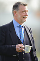 DONALD FINDLAY QC ENJOYS A CIGAR AND A CUPPA BEFORE THE START OF THE GAME