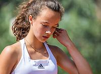 Hilversum, Netherlands, August 7, 2017, National Junior Championships, NJK, Paula van Poelgeest<br /> Photo: Tennisimages/Henk Koster