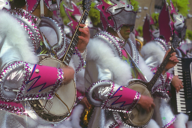 Mummers Parade, New Year's Celebration, Philadelphia, Pennsylvania