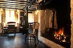 The Village Pub. Mason Arms, Branscombe, Devon. England 1990s 1991