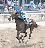 Emma's Encore streaks to the wire in Victory Ride.