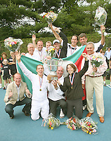 17-6-07, Groenekan, Playoffs Eredivisie Tennis, Team Popeye Goldstar uit Amsterdam is winnaar van de Tennis Competitie