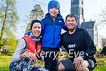 Enjoying a stroll in the Killarney National park on Saturday, l to r: Helena, Gavin and Adrian Fitzgerald.