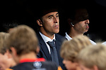 Real Madrid coach Julen Lopetegui during UEFA Champions League match between Real Madrid and A.S.Roma at Santiago Bernabeu Stadium in Madrid, Spain. September 19, 2018. (ALTERPHOTOS/Borja B.Hojas)