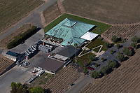 aerial photograph of the Laird Family Estate winery, Napa, California