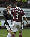 02/01/2007       Copyright Pic: James Stewart.File Name : sct_jspa10_dunfermline_v_hearts.PHIL MCGUIRE CLASHES WITH TAKIS FYSSAS AFTER MCGUIRE ACCUSED HIM OF DVING...James Stewart Photo Agency 19 Carronlea Drive, Falkirk. FK2 8DN      Vat Reg No. 607 6932 25.Office     : +44 (0)1324 570906     .Mobile   : +44 (0)7721 416997.Fax         : +44 (0)1324 570906.E-mail  :  jim@jspa.co.uk.If you require further information then contact Jim Stewart on any of the numbers above.........