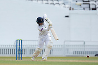 Liam Dawson of Hampshire CCC drives straight during Surrey CCC vs Hampshire CCC, LV Insurance County Championship Group 2 Cricket at the Kia Oval on 1st May 2021