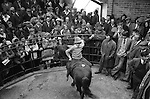MARKET DAY FARMERS AT HORSE SALE 1970s UK