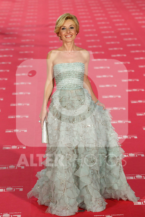 Cayetana Guillen Cuervo poses at Goya Cinema Awards 2012 ceremony, at the Palacio Municipal de Congresos on February 19, 2012 in Madrid..Photo: Cesar Cebolla / ALFAQUI