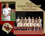 JSerra High Varsity Men's Tennis composite image.