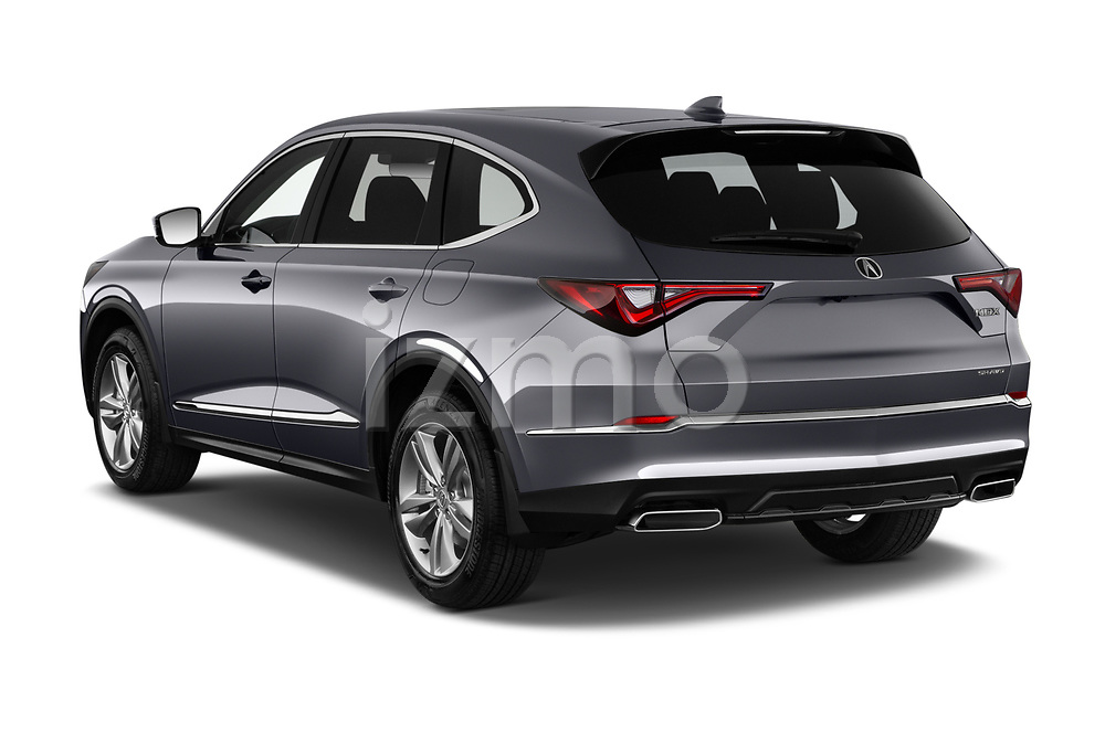 Car pictures of rear three quarter view of 2022 Acura MDX - 5 Door SUV Angular Rear