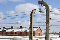 POLAND Auschwitz-Birkenau, concentration camp of german Nazi regime, where 1 Million jews where murdered by SS (1940–1945) , UNESCO world heritage / POLEN Auschwitz-Birkenau II, deutsches nationalsozialistisches Konzentrations- und Vernichtungslager (1940–1945) , hier wurden ca. 1 Million Juden durch die SS ermordet