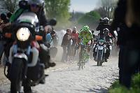 Peter Sagan (SVK/Cannondale)<br /> <br /> Paris-Roubaix 2014