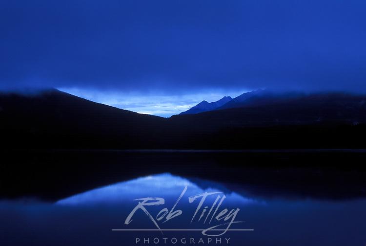 Vermillion Lake at Dawn, Banff NP, Alberta, Canada