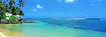 Beach on Taveuni, Fiji Islands<br /> <br /> Image taken on large format panoramic 6cm x 17cm transparency. Available for licencing and printing. email us at contact@widescenes.com for pricing.