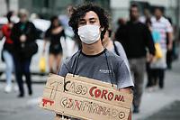 27.02.2020 - Máscara Coronavírus av Paulista em SP