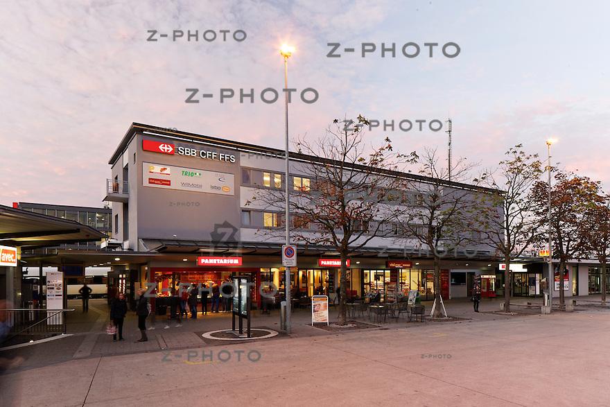 Geschaefte Bahnhof Wil am 27. Oktober 2011<br /> Mehr Bahnhof fuer SBB Immobilien<br /> <br /> Copyright © Zvonimir Pisonic / SBB CFF FFS