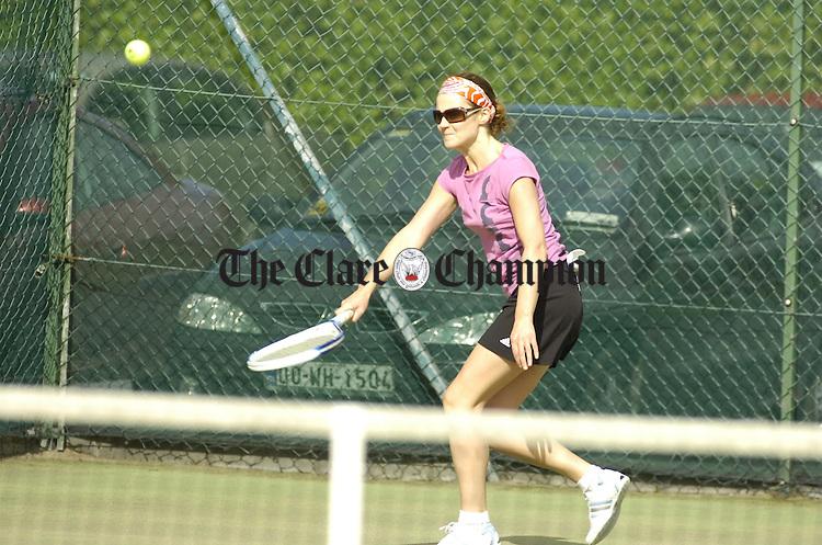 Ennis Lawn Tennis Club Finals.Pic Arthur Ellis.