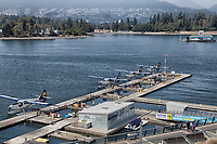 A view of the Vancouver Harbour Flight Centre Seaplane Terminal.