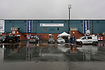 A view of Gigg Lane the day after Bury FC were expelled from the EFL. 28/08/2019. Gigg Lane, Bury. Photo by Paul Thompson.