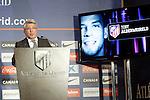 Atletico de Madrid's President Enrique Cerezo. September 10, 2013. (ALTERPHOTOS/Acero)